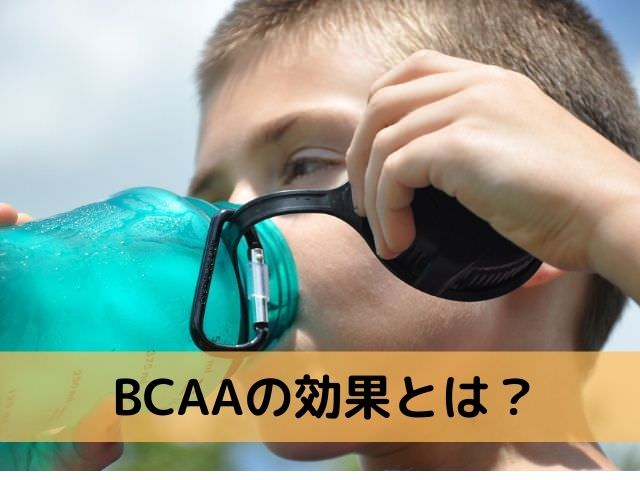 BCAAの効果とは?